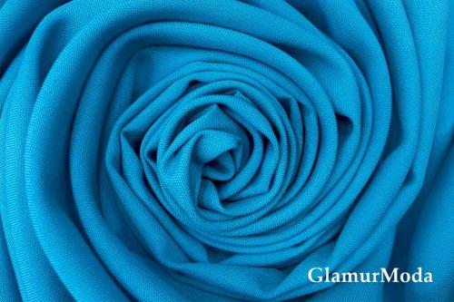 Габардин Фуа [Fuhua] лазурного цвета