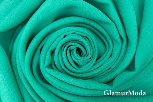 Габардин Фуа [Fuhua] бирюзово-зеленого цвета