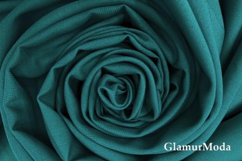 Габардин Фуа [Fuhua] темно-бирюзового цвета