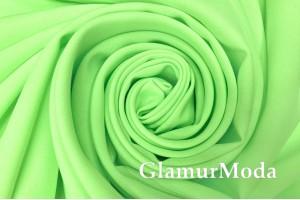 Габардин салатового цвета
