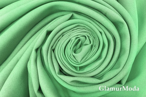 Габардин Фуа [Fuhua] мятного цвета