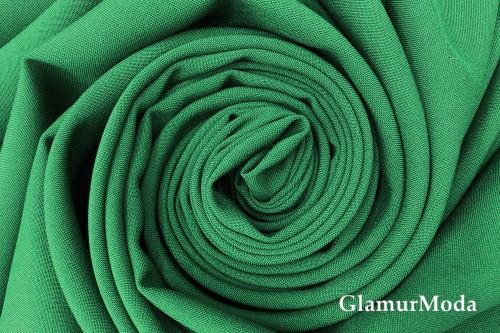 Габардин Фуа [Fuhua] изумрудного цвета