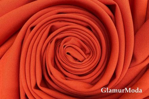 Габардин Фуа [Fuhua] терракотового цвета
