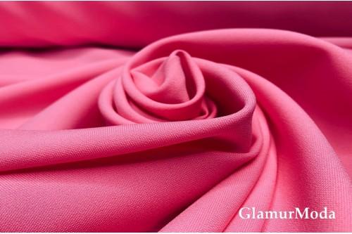 Габардин Фуа [Fuhua] розового цвета арт. 141