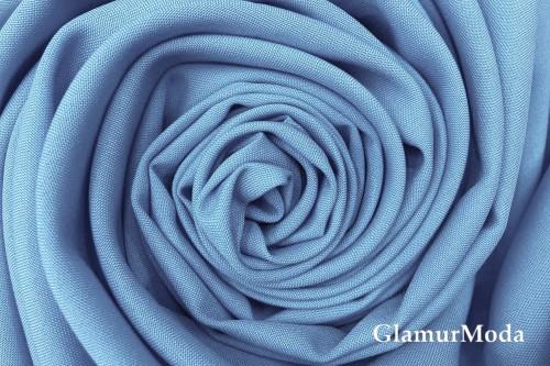 Габардин Фуа [Fuhua] голубого цвета