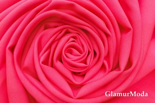 Габардин Фуа [Fuhua], кислотно-розовый