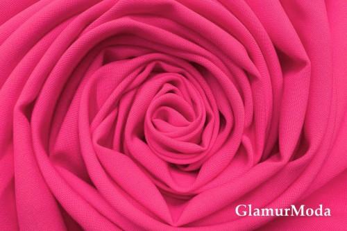 Габардин Фуа [Fuhua], ярко-розовый арт. 337