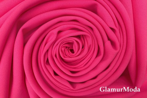 Габардин Фуа [Fuhua], ярко-розовый арт. 338