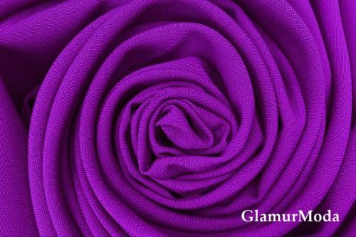 Габардин Фуа [Fuhua], ярко-фиолетовый