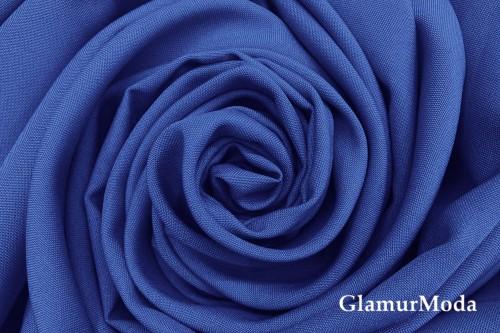 Габардин Фуа [Fuhua] синего цвета
