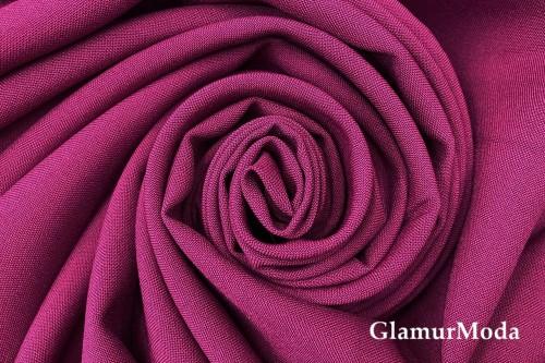 Габардин Фуа [Fuhua], фиолетовая фуксия, арт.143
