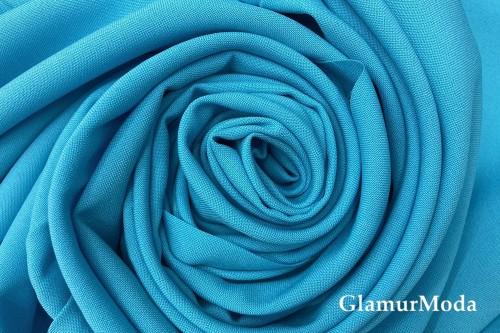 Габардин Фуа [Fuhua], голубой, арт.206