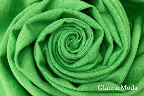 Габардин Фуа [Fuhua] ярко-зеленый, арт. 237