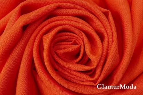 Габардин ярко-оранжевого цвета