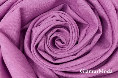 Габардин Фуа [Fuhua] лилового цвета