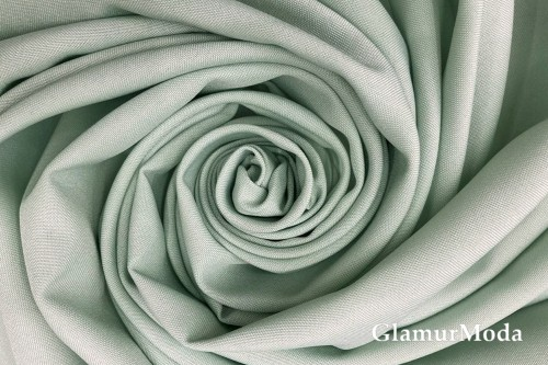 Габардин, серо-зеленый