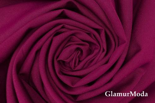 Габардин цвета марсала бордо