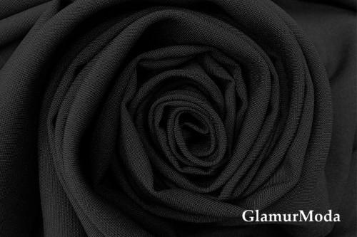 Габардин черного цвета
