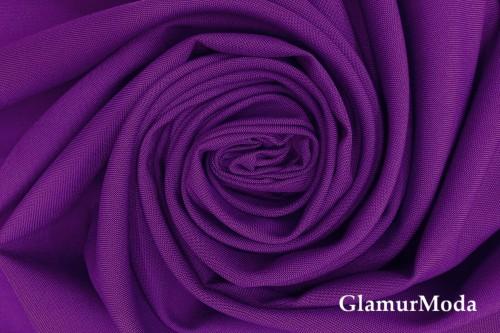 Габардин фиолетового цвета