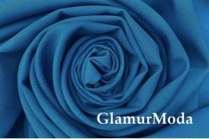 Габардин ярко-синего цвета