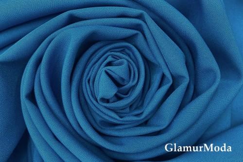 Габардин ярко-синего цвета, арт. 215