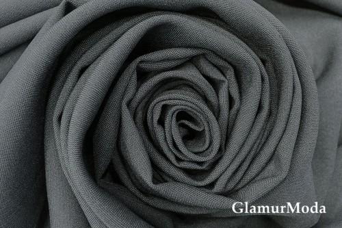 Габардин темно-серого цвета