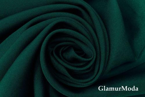 "Габардин цвета ""бутылка"" - темно-зеленый"