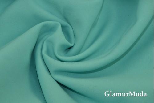Габардин бирюзового цвета