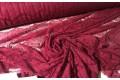 Гипюр Реснички бордового цвета