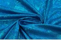 Голограмма диско на масле бирюзово-голубого цвета