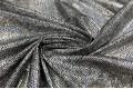 Голограмма диско с крупным рисунком на масле, серебряный цвет, черная основа