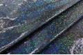 Голограмма диско с мелким рисунком, черного цвета