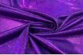 Голограмма диско на масле фиолетового цвета