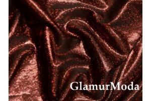 Голограмма диско коричневого цвета