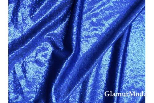 Голограмма диско синего цвета