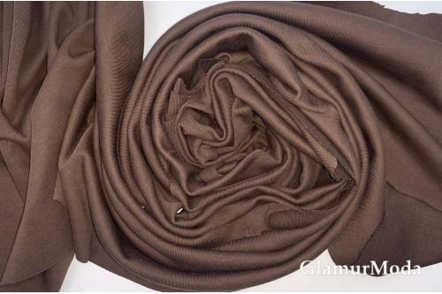 Интерлок коричневого цвета, Турция