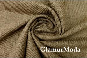 Костюмная ткань с шерстью, бежевого цвета, арт. 7725, Италия