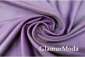 Костюмный хлопок фиолетового цвета, Италия арт. 8514