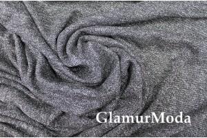 Костюмная ткань, хлопок с шерстью, серого цвета, арт. 7754, Италия