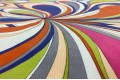 Вельвет Разноцветные лепестки, арт.7949, Италия