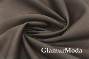 Костюмная ткань шерсть темно-коричневого цвета, арт. 7360, Италия