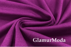 Костюмный трикотаж пурпурного цвета, арт. 8181/2, Италия