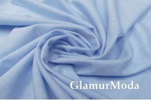 Рубашечный хлопок Звездочки на голубом, арт. 8596, Италия