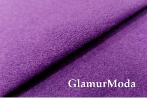 Кашемир пальтовый цвет фиолетовый