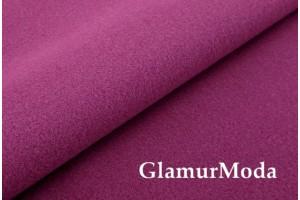 Кашемир пальтовый пурпурного цвета