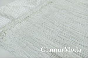 Нитяные шторы Кисея, белый цвет