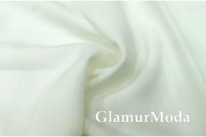 Костюмная ткань Анжелика молочного цвета