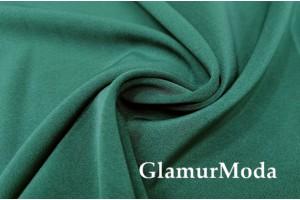 Костюмная ткань Анжелика цвета зелёный изумруд