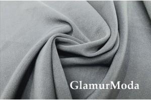 Костюмная ткань Анжелика светло-серого цвета
