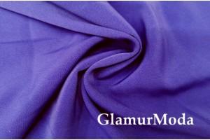 Костюмная ткань Анжелика сине-фиолетового цвета
